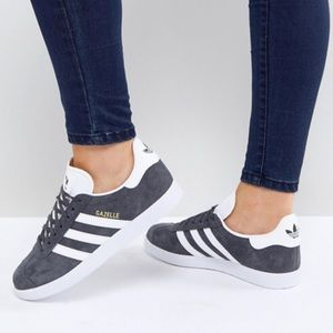 adidas Originals Gazelle Sneakers In Gray